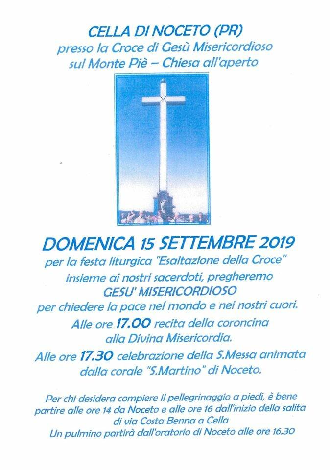 Festa liturgica sul monte Piè