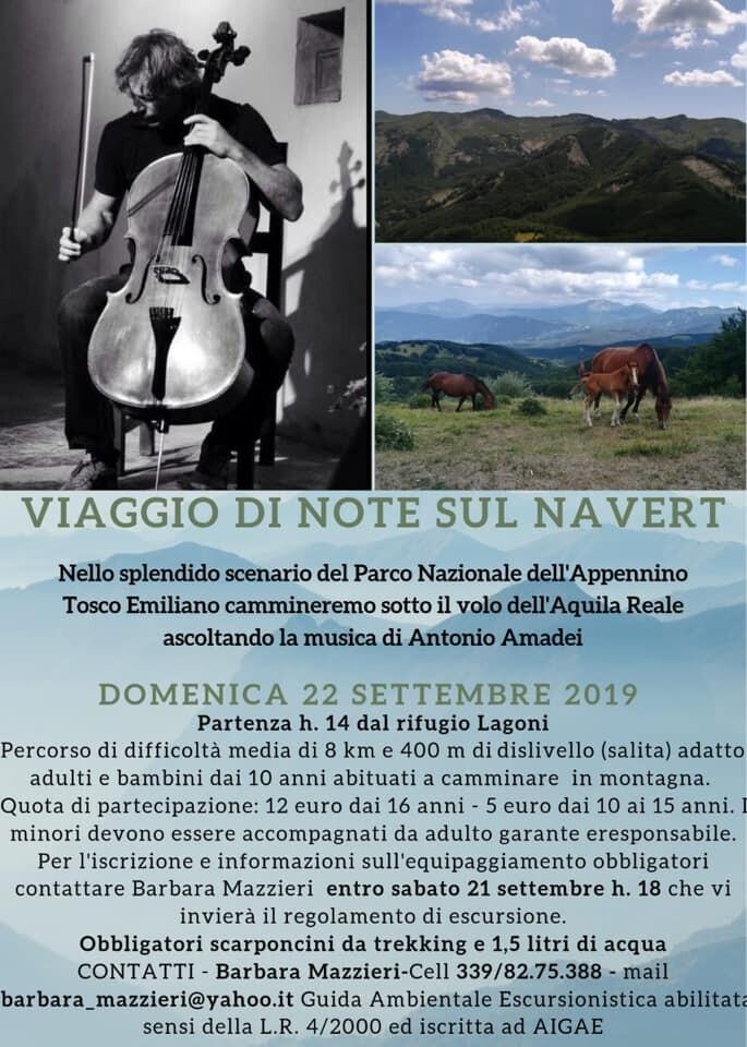 Viaggio di note sul monte Navert