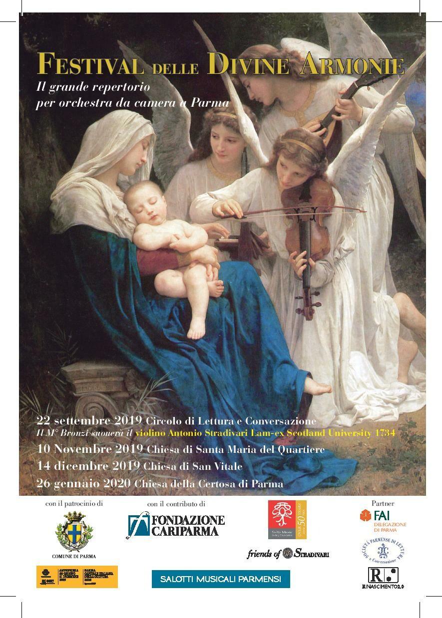 """Festival delle Divine Armonie Musica da camera in luoghi di grande bellezza: """"CHOPIN E TCHAIKOVSKY: ARMONIA E PASSIONE"""""""