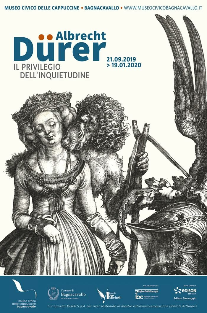 Albrecht Dürer. Il privilegio dell'inquietudine in mostra al Museo Civico delle Cappuccine a Bagnacavallo