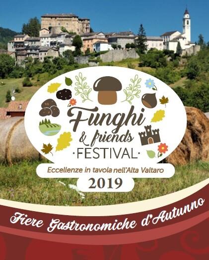 """""""Funghi & Friends"""" Festival, che racchiude le principali manifestazioni di carattere gastronomico dell'Alta Valtaro"""