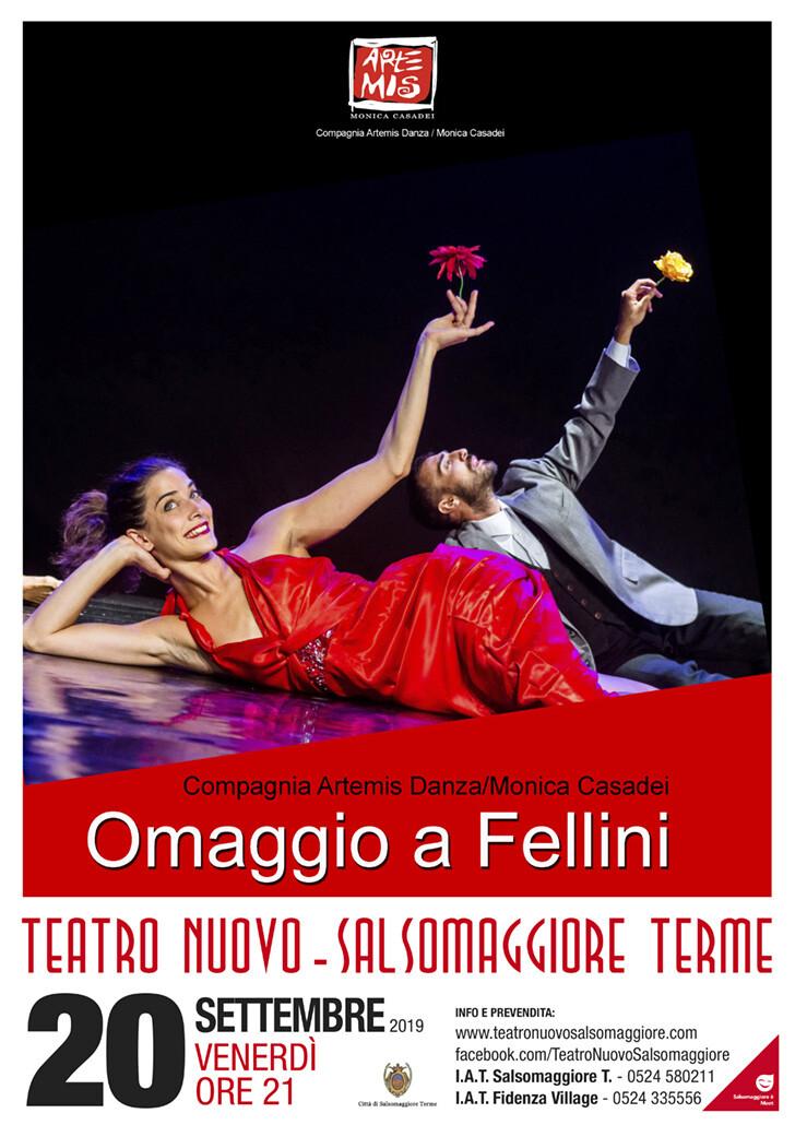"""""""I Bislacchi. Omaggio a  Fellini""""  al Teatro Nuovo di Salsomaggiore"""