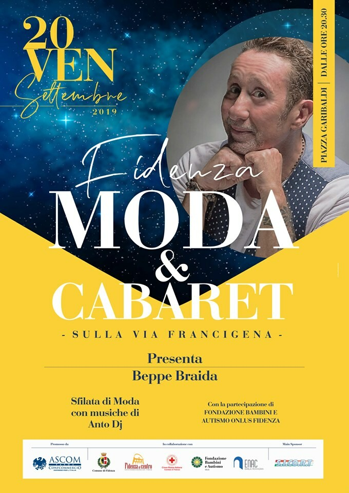 """Fidenza Moda & Cabaret – sulla Via Francigena""!!"