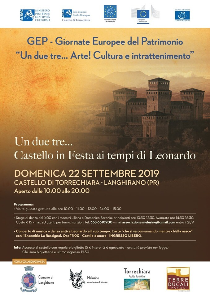 G.E.P. -Un due tre...Castello in festa ai tempi di Leonardo