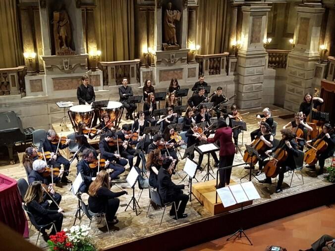 """Concerto  dell'Orchestra del Conservatorio  """"Lucio Campiani"""" di Mantova"""