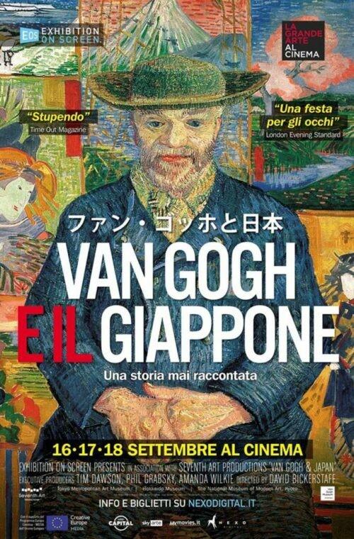 La grande arte al cinema:  VAN GOGH E IL GIAPPONE  di David Bickerstaff
