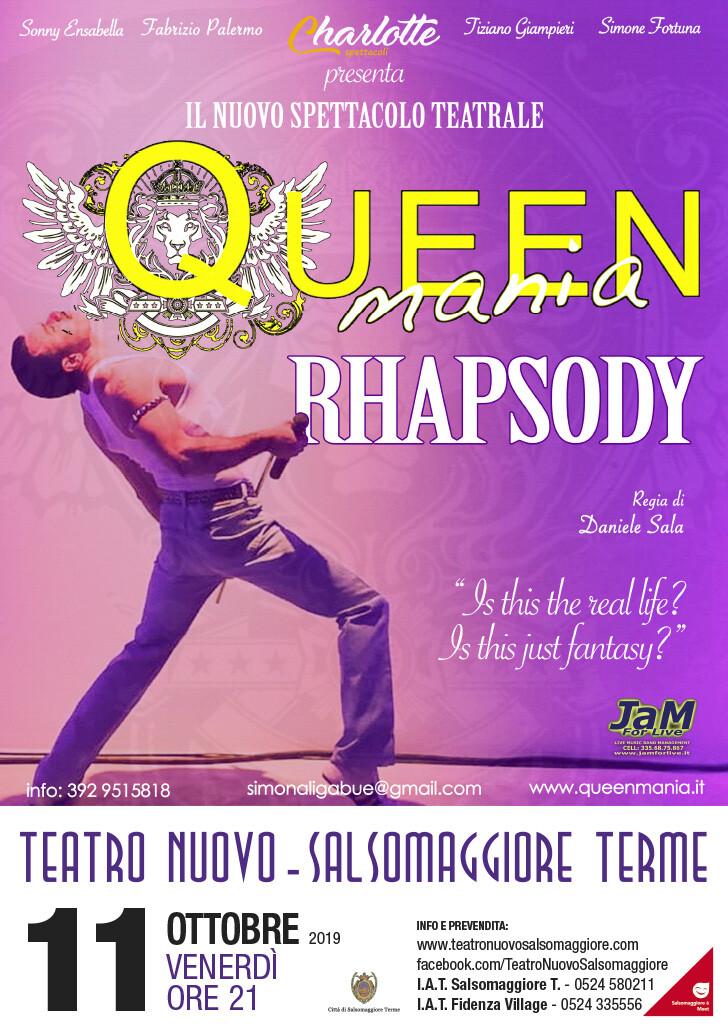 Queen Mania  Queen Mania Rhapsody  al Teatro Nuovo di Salsomaggiore