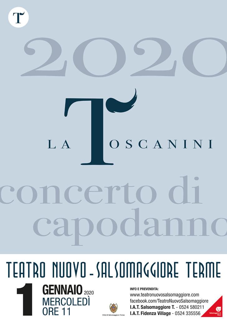 La Toscanini  Concerto di Capodanno al Teatro Nuovo di Salsomaggiore