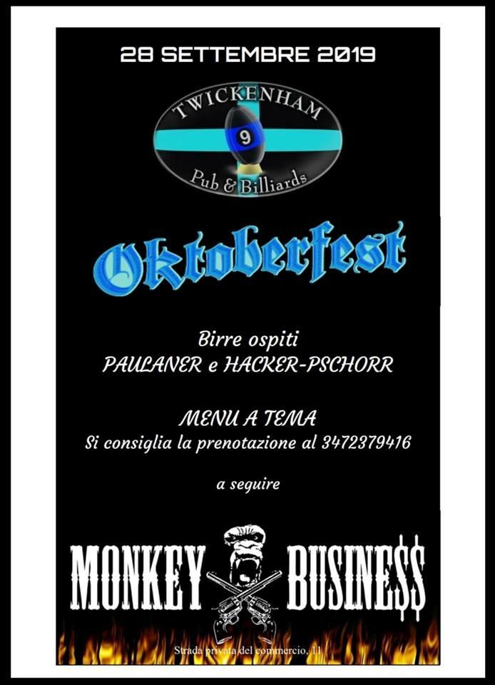 Oktobeerfest al Twickenham Pub & Biliards