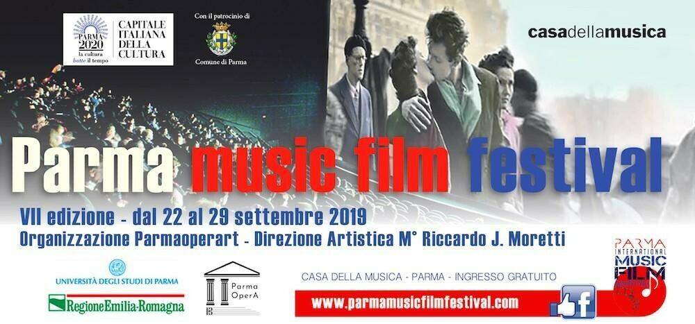 PARMA INTERNATIONAL MUSIC  FILM FESTIVAL  VII° Edizione: programma del 23 settembre