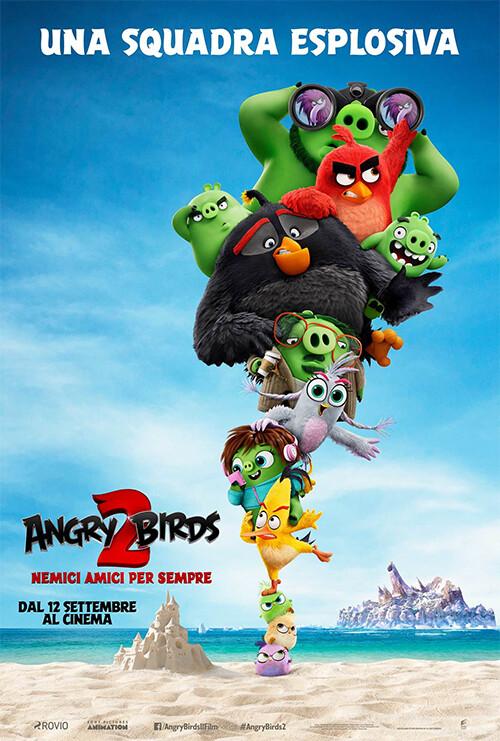 ANGRY BIRDS-Nemici amici per sempre al cinema Odeon di Salsomaggiore