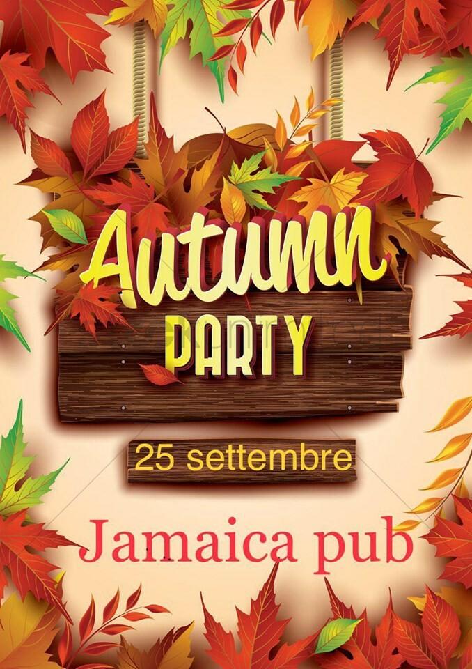 Autumn party al JAMAICA PUB PARMA
