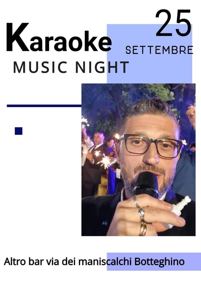 Karaoke  all' Altro risto bar