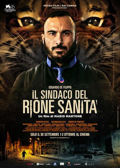 IL SINDACO DEL RIONE SANITA' In concorso al Festival di Venezia  al cinema Astra