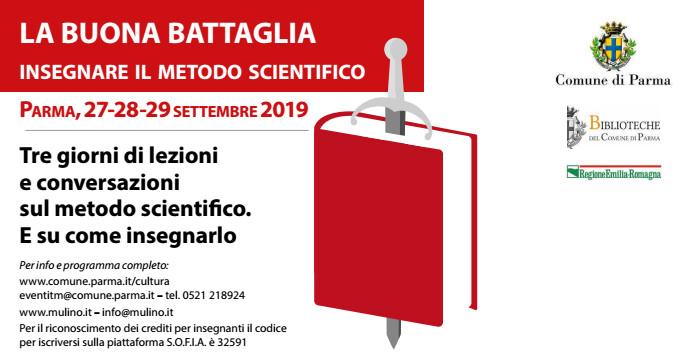 La Buona Battaglia, seconda Edizione:  Insegnare il metodo scientifico