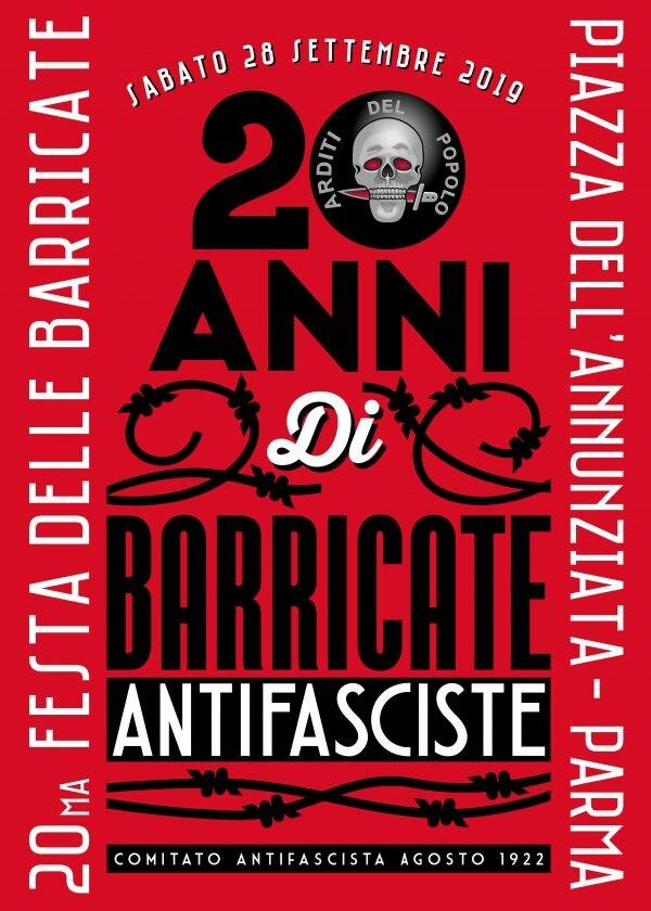I BORGHI DEI SOVVERSIVI  nell'ambito della XX Festa delle Barricate antifasciste