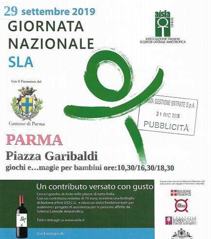 Giornata Nazionale SLA 2019 in piazza Garibaldi
