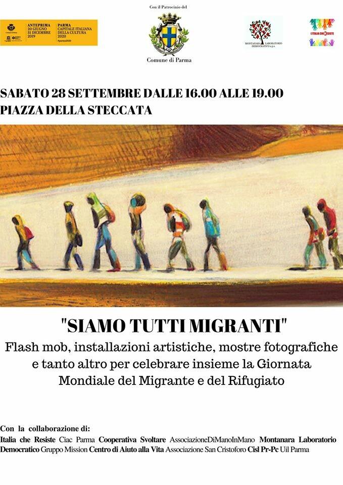 """Manifestazione 'Siamo Tutti Migranti"""""""