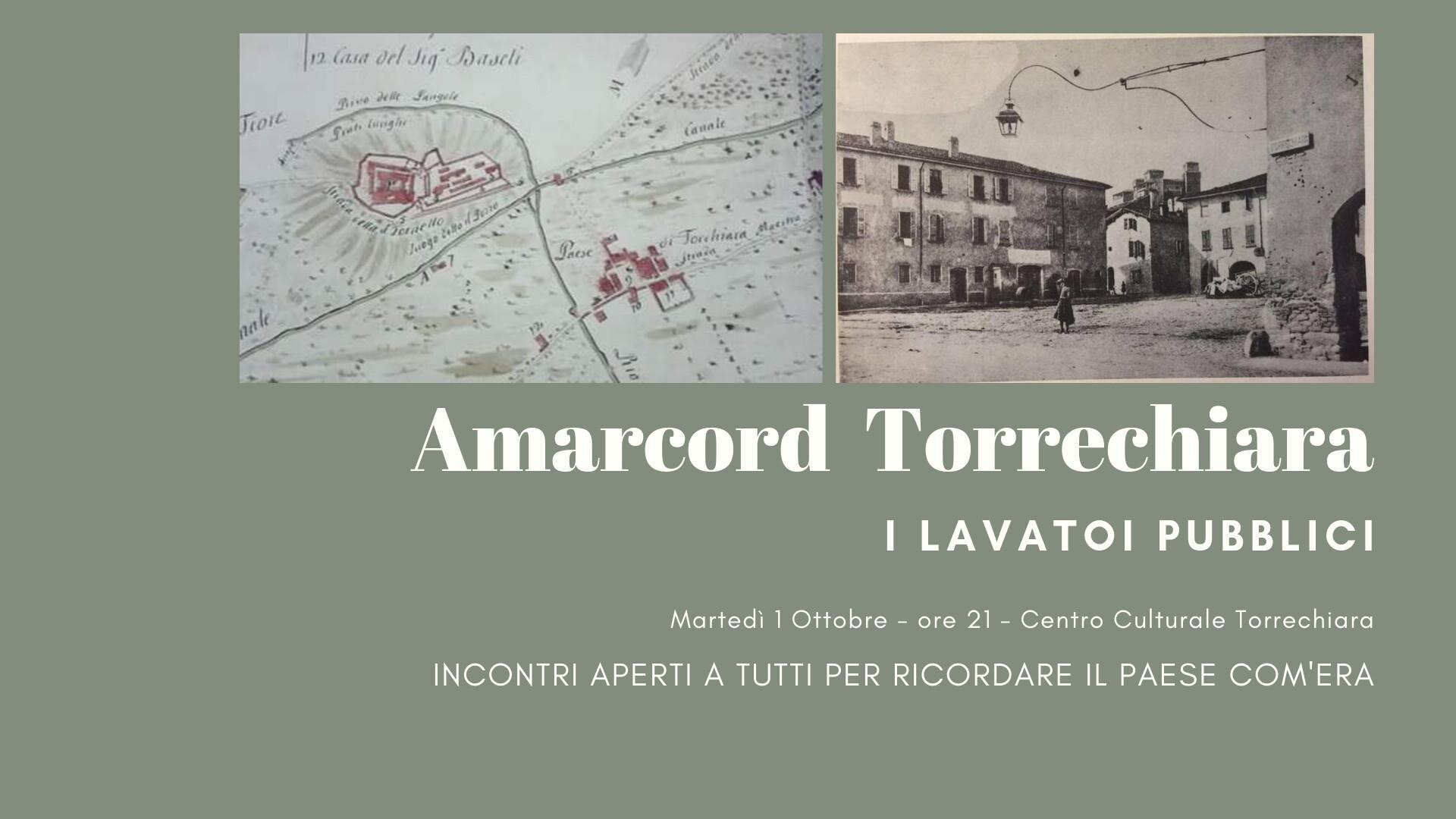 AMARCORD TORRECHIARA: i lavatoi