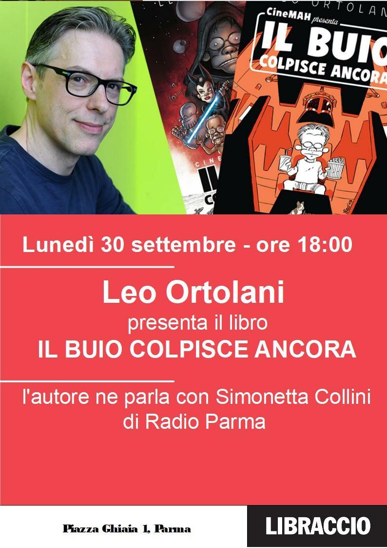 """""""Il buio colpisce ancora"""", Leo Ortolani al Libraccio Parma"""