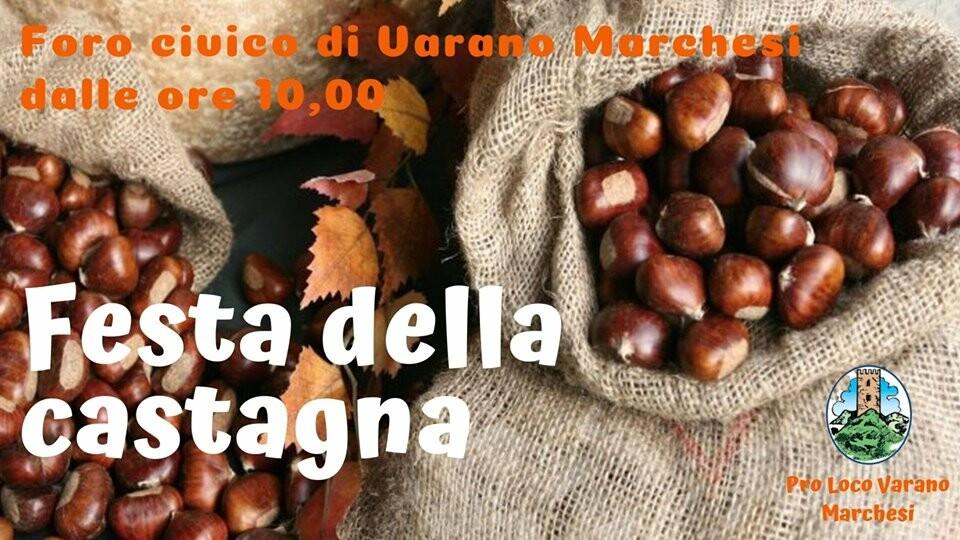 Festa della castagna a Varano Marchesi