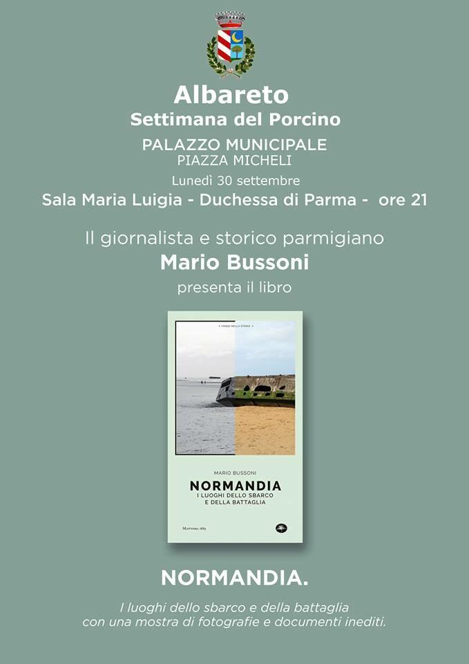"""Presentazione del libro del giornalista Mario Bussoni """"Normandia"""""""