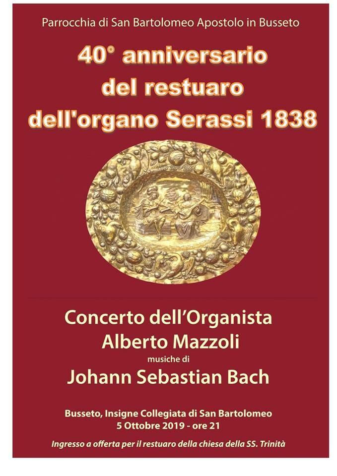 Concerto dell'organista Alberto Mazzoli