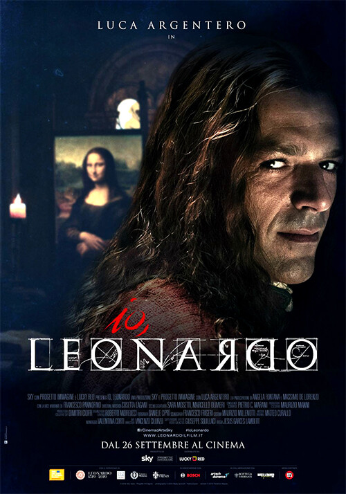 IO, LEONARDO  con Luca Argentero al Cinema D'Azeglio