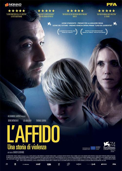 L'AFFIDO  di Xavier Legrand. (Drammatico-90') al Cinema D'Azeglio