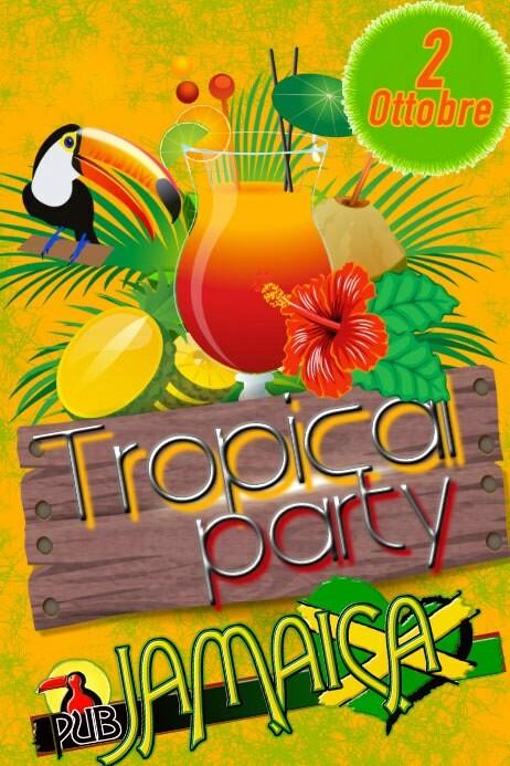 Tropical party al Jamaica pub ogni mercoledì
