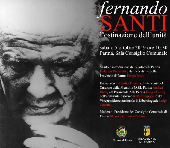 Fernando Santi, la commemorazione a 50 anni dalla scomparsa