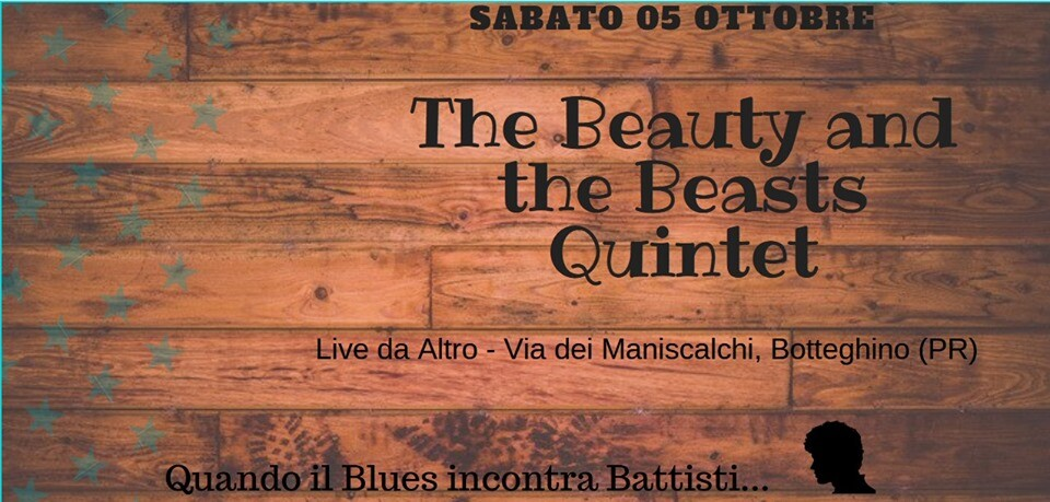 The Beauty and the Beasts Quintet live da Altro