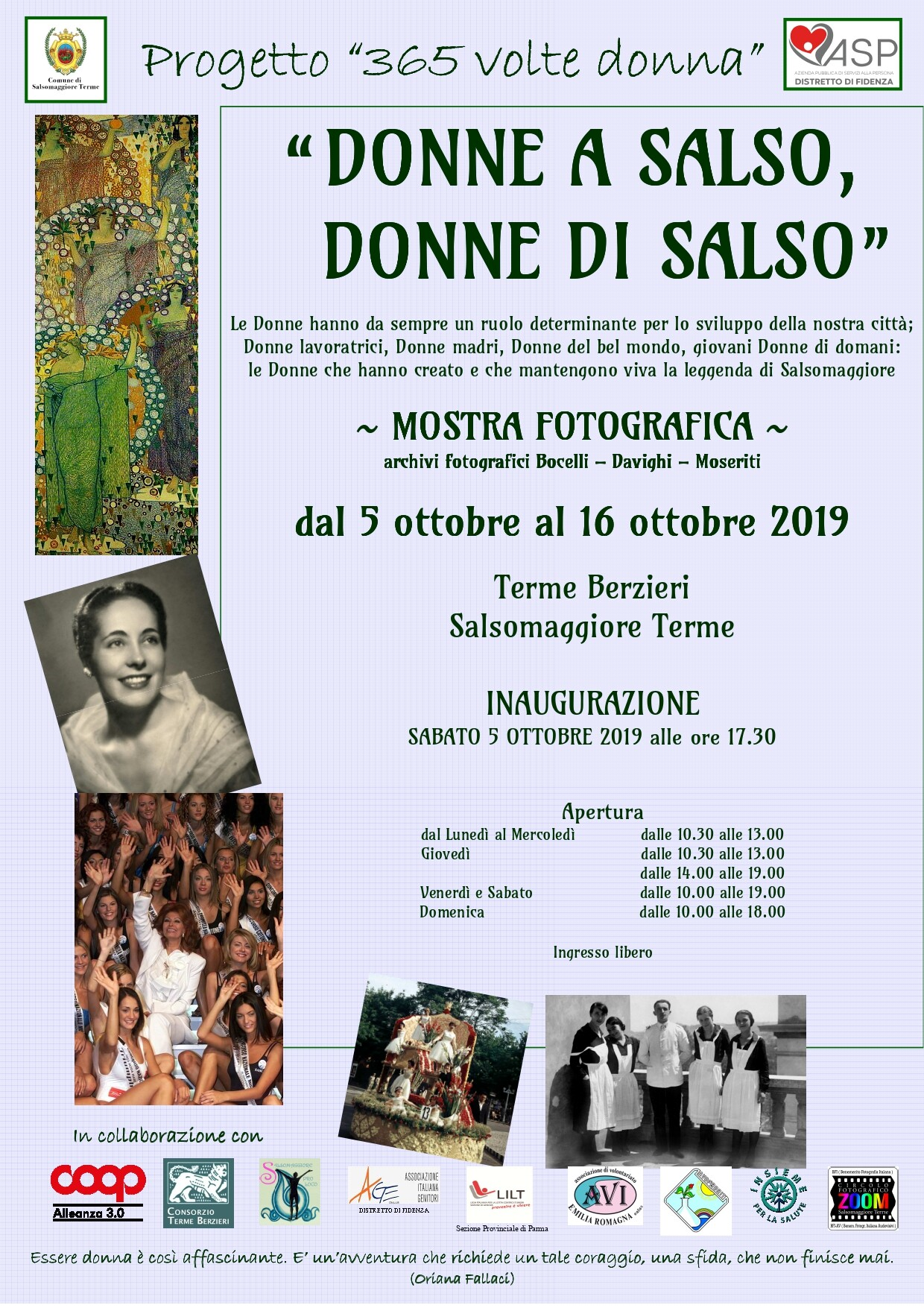 Mostra 'Donne a Salso, Donne di Salso'