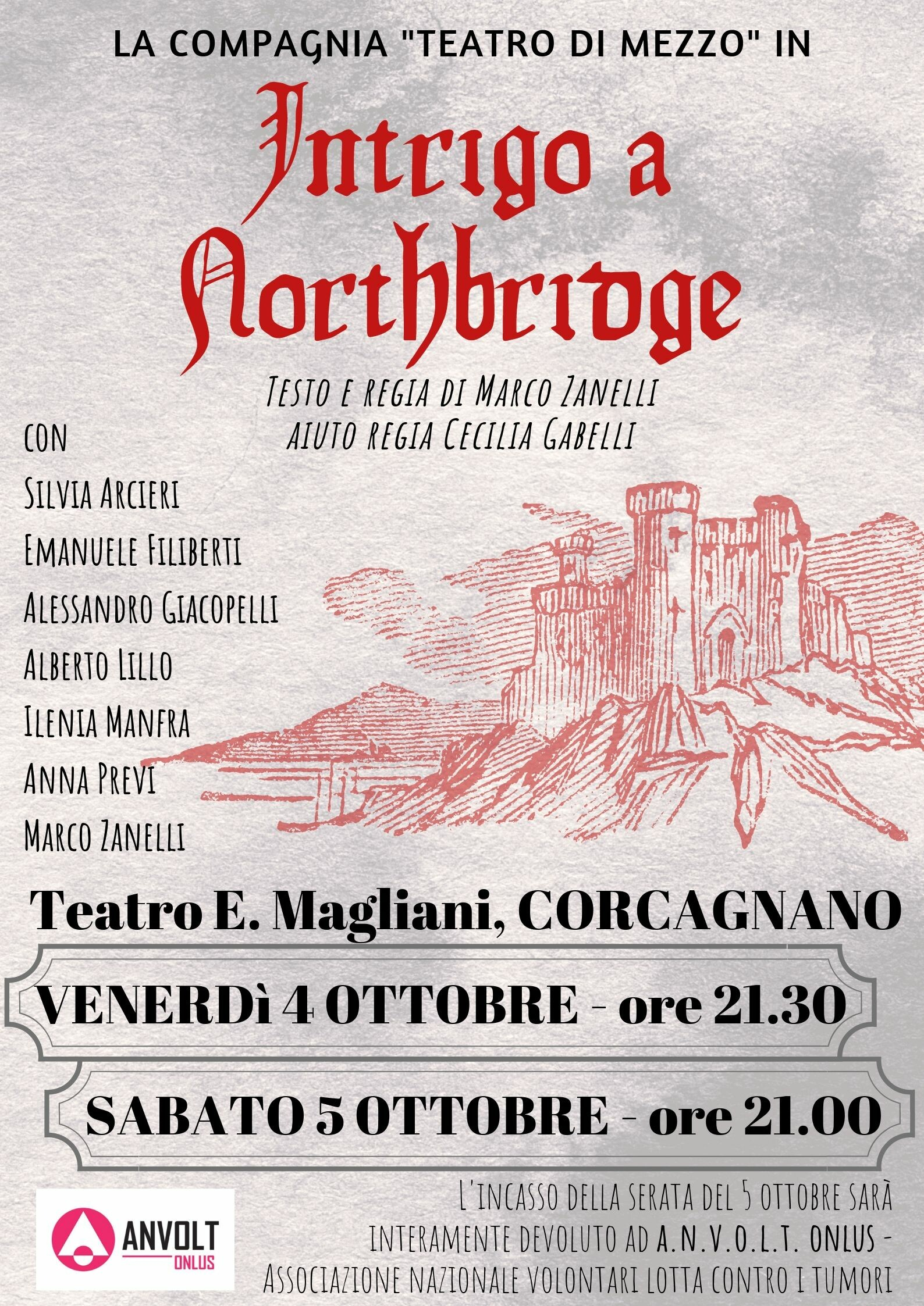 Intrigo a Northbridge al teatro Magliani