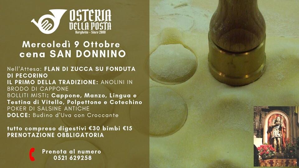 San Donnino 2019 All'osteria Della Posta