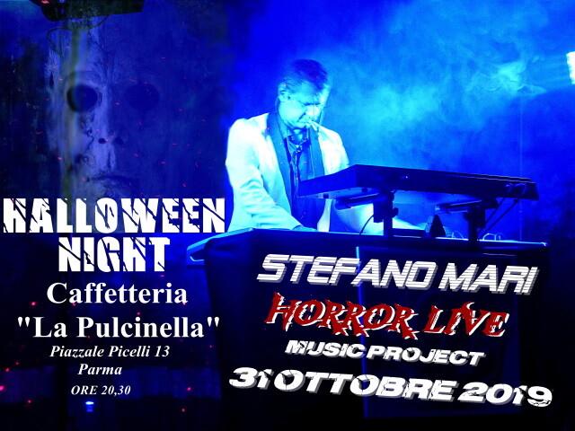 HALLOWEEN alla Pulcinella con la musica di  Stefano Mari