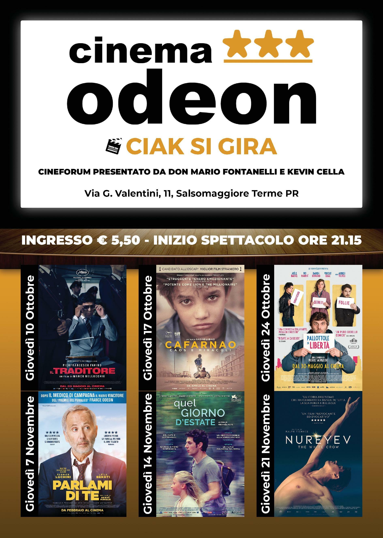 CIAK SI GIRA! Appuntamento con il Cineforum