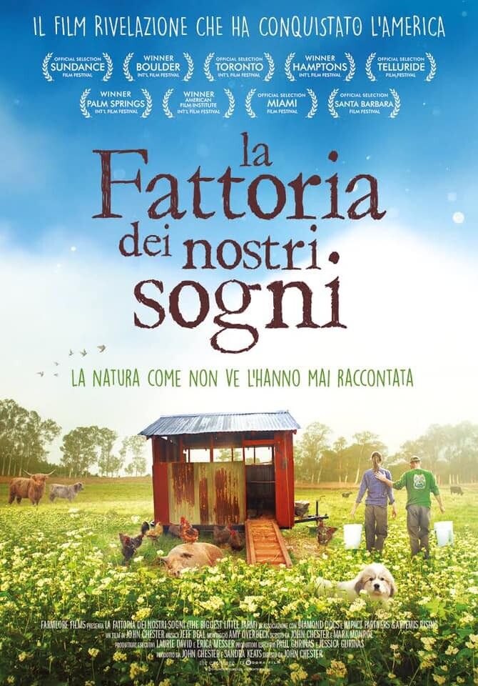 """""""LA FATTORIA DEI NOSTRI SOGNI"""" documentario ecologista a Mycinem@"""