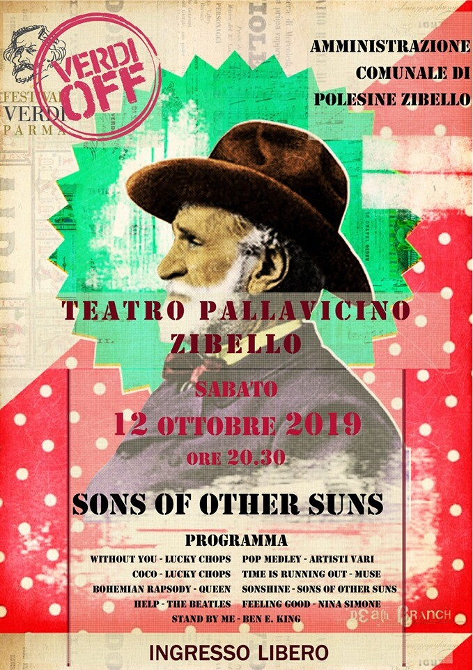 Ottobre a Teatro Pallavicino: Sons of th other sun.