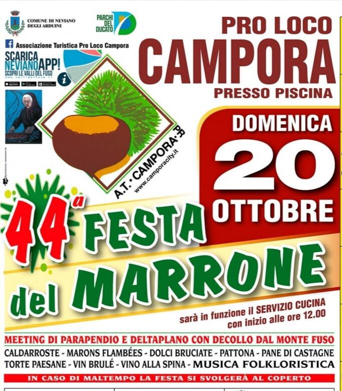 44° Festa del Marrone di Campora