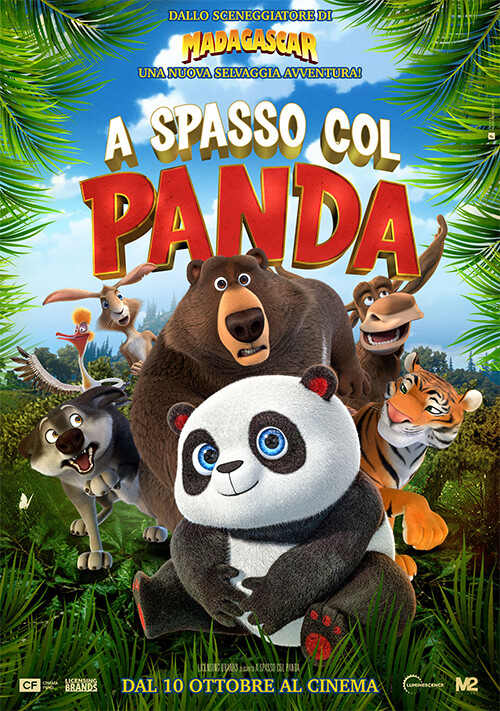 A SPASSO COL PANDA  al cinema Grand'Italia