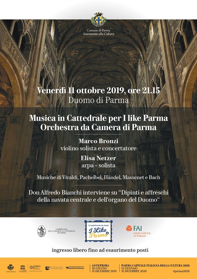 Musica in Cattedrale per I like Parma