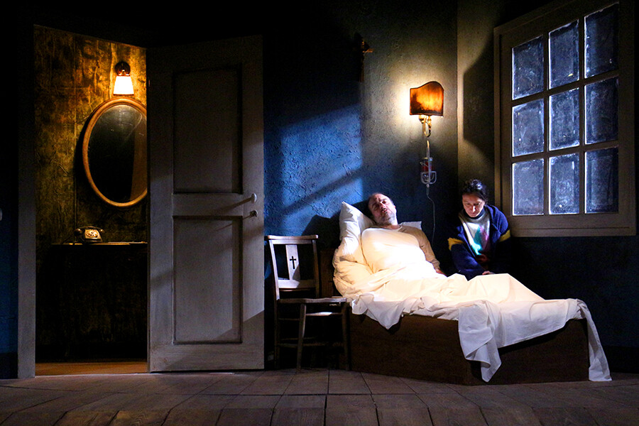 MISERY  di William Goldman  tratto dalromanzo di Stephen King al Teatro Due