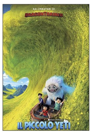 Il piccolo yeti    al cinema Cristallo di Borgotaro