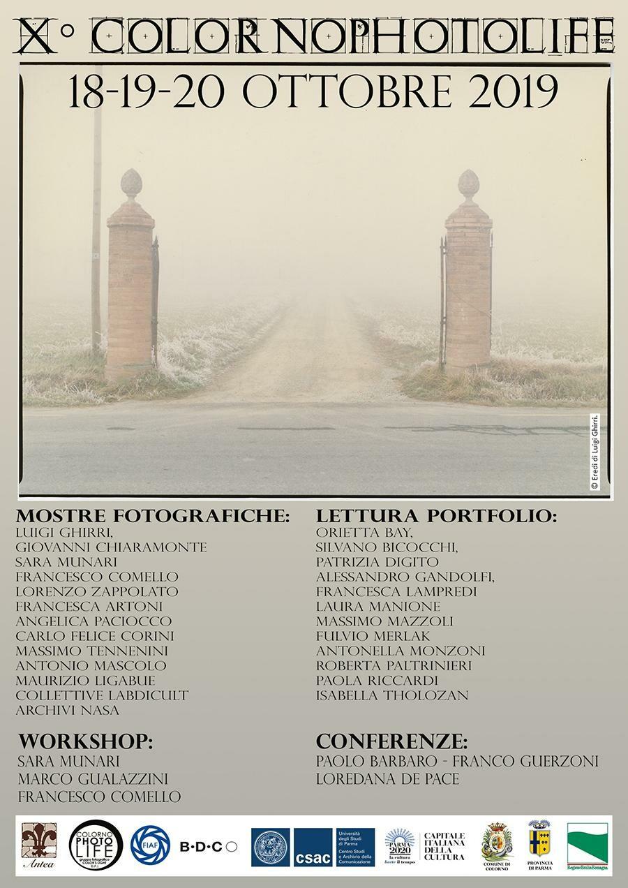 """ColornoPhotolife """"Tra Effimero ed Eterno""""  la decima edizione del Festival Fotografico alla  Reggia di Colorno"""