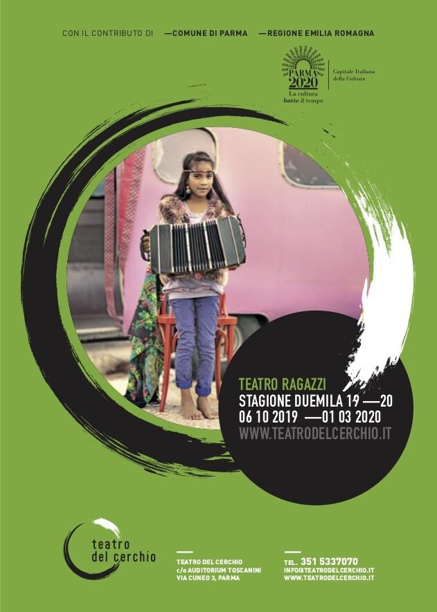 STAGIONE RAGAZZI 2019/2020 del TEATRO DEL CERCHIO Programma