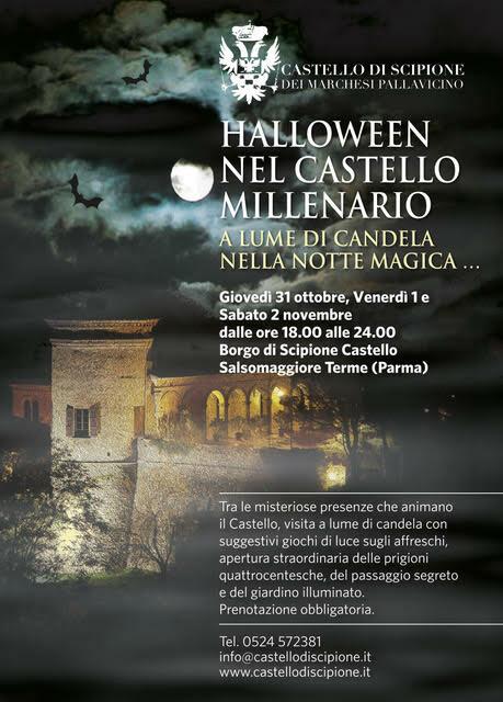 Halloween nel Castello Millenario: a lume di candela nella Notte Magica…