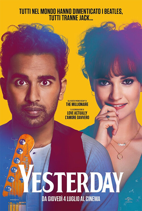 """Yesterday"" al  cinema Lux"