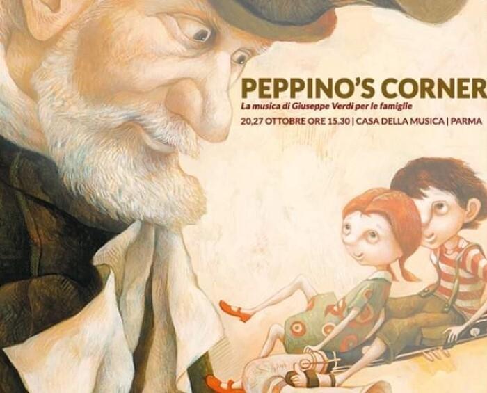 Peppino's Corner: un trionfo di emozioni  Due concerti-spettacolo per tutta la famiglia nel corso del mese verdiano