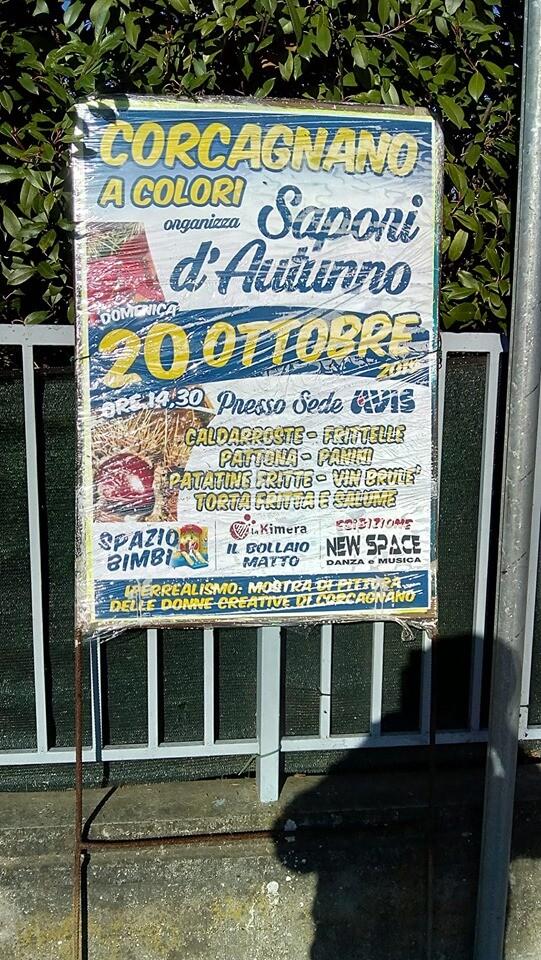 Sapori d'autunno a Corcagnano